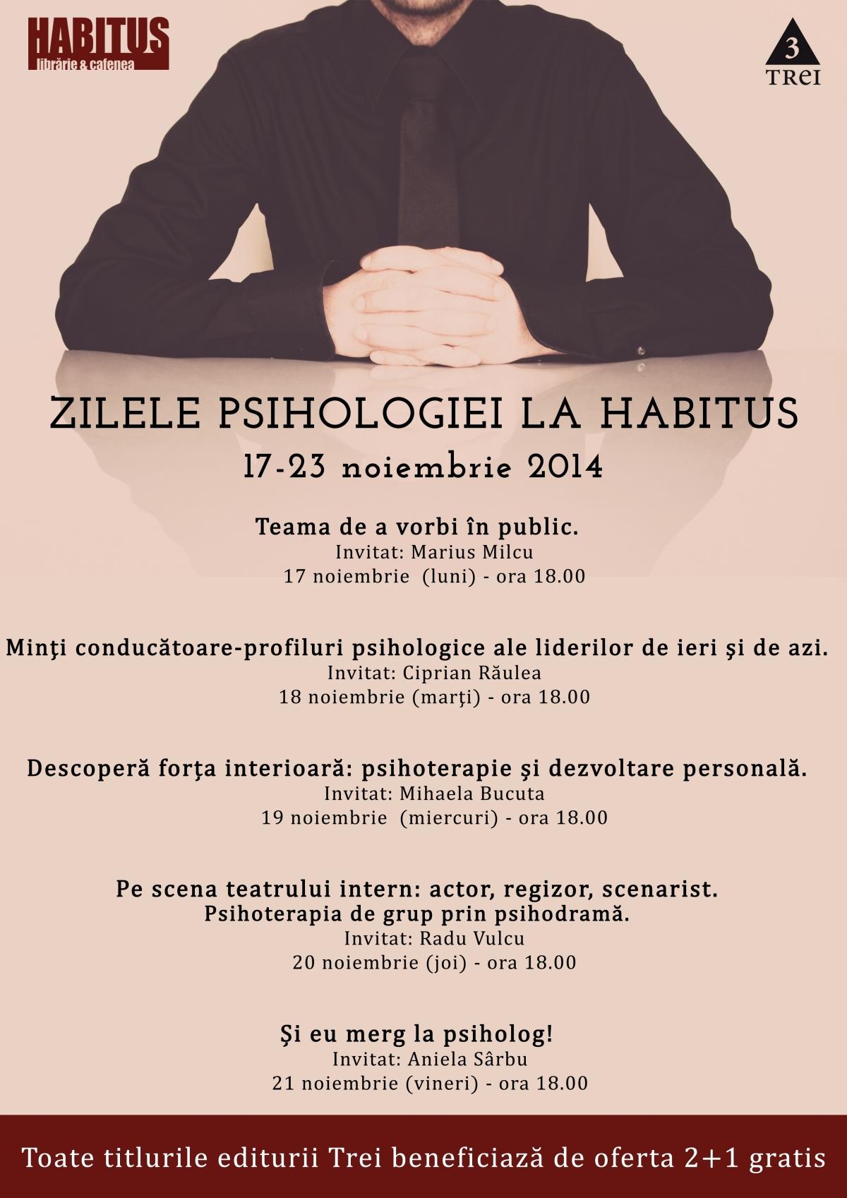 zilele psihologiei ed trei Habitus